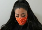 mix design fabric face maskes repeat use maskes
